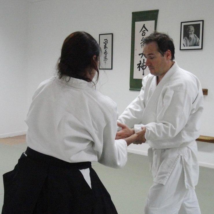 Aikido για τυφλούς