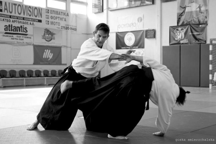 εξάσκηση στο aikido