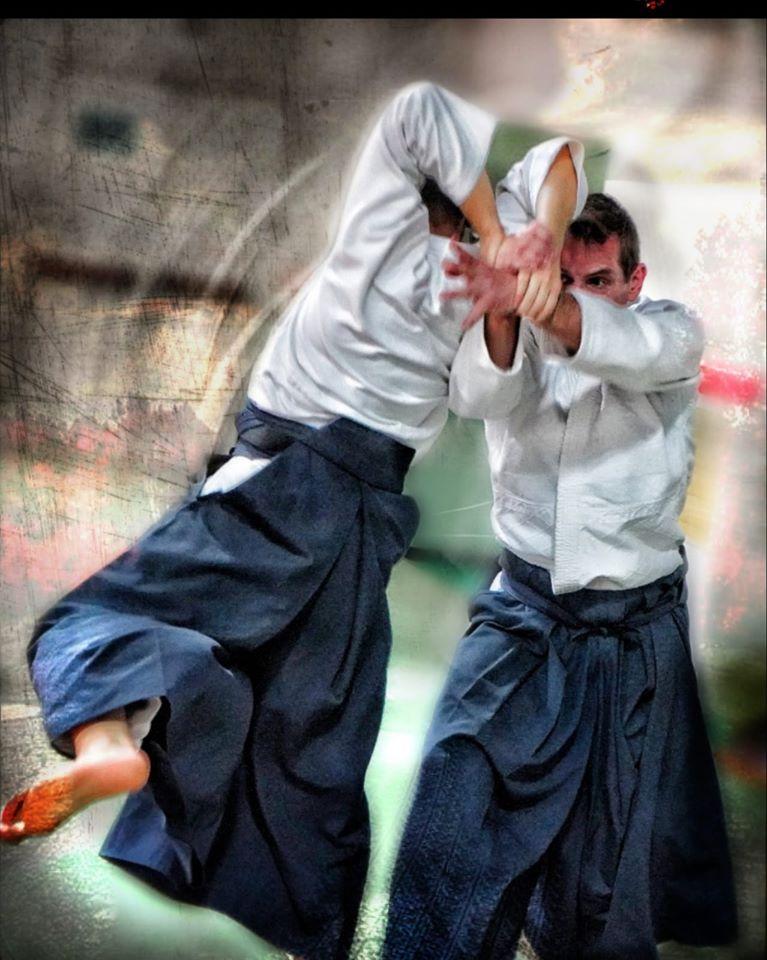 Eamonn Devlin practicing aikido